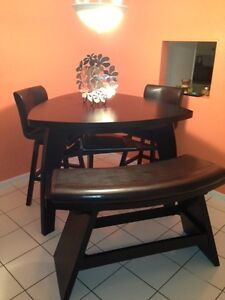 Exceptionnel Noah Chocolate Dining Room Collection Set Ebay