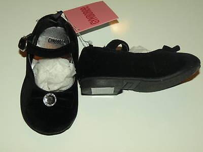 GYMBOREE Royal rouge en daim noir avec paillettes BOW Dressy Bottes 9 10 11 12 13 2 4 Neuf avec étiquettes
