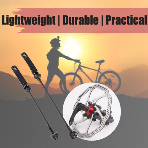 Quick Release Bicycle Hub Road MTB Bike Cycle Front /& Rear Axle Hollow Shaft