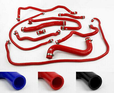 Green Stoney Racing Silicone Coolant /& Breather Hose Kit with Clamps MX5NA-0013G-CK