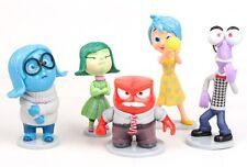Inside Out Joy Sadness Playset 5 Figure Cake Topper * USA SELLER* Toy Doll Set
