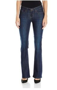 54b15f5d33 Details about NWT Levi s Women s 715 Bootcut Jeans - 29 (US 8) Short - Land  and Sea