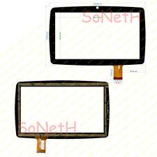 """Vetro Touch screen Digitizer 7"""" Lisciani Mio Tab Smart Evolution MP0100887 Nero"""