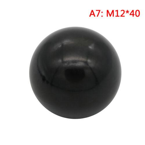 M6 M12-Gewindekugelkopf AIT M5 M8 Schwarzer Kunststoffknopf mit M4 M10