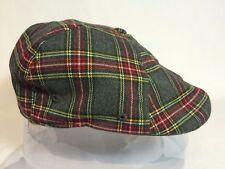KANGOL Plaid 504 Cap Men/'s Flexfit Flat Newsboy Hat Classic K1779CO Dover Check