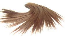 100cm Haarverlängerung Remy ECHTHAAR TRESSE 35cm lang rotbraun glatte Tressen