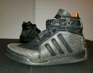 81efc819c53a5 2011 Adidas Neo Y-3 Yohji Yamamoto Black High Top Shoes Size 10 ...