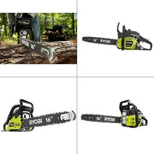 Details About Ryobi Gas Chainsaw 16 In 37cc 2 Cycle Chain Saw Automatic Oiler Reconditioned