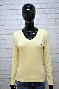 Maglia-Blusa-Donna-TOMMY-HILFIGER-Taglia-M-Maglietta-Shirt-Woman-Jersey-femme