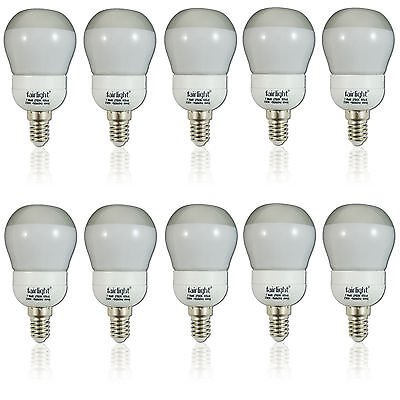 Negawatt NW6205ASP Energiesparlampe Kerze 5W Lampe E14 Leuchtmittel Warmweiß 230