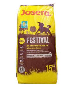 15 kg de nourriture pour chiens Josera Emotion Festival ***