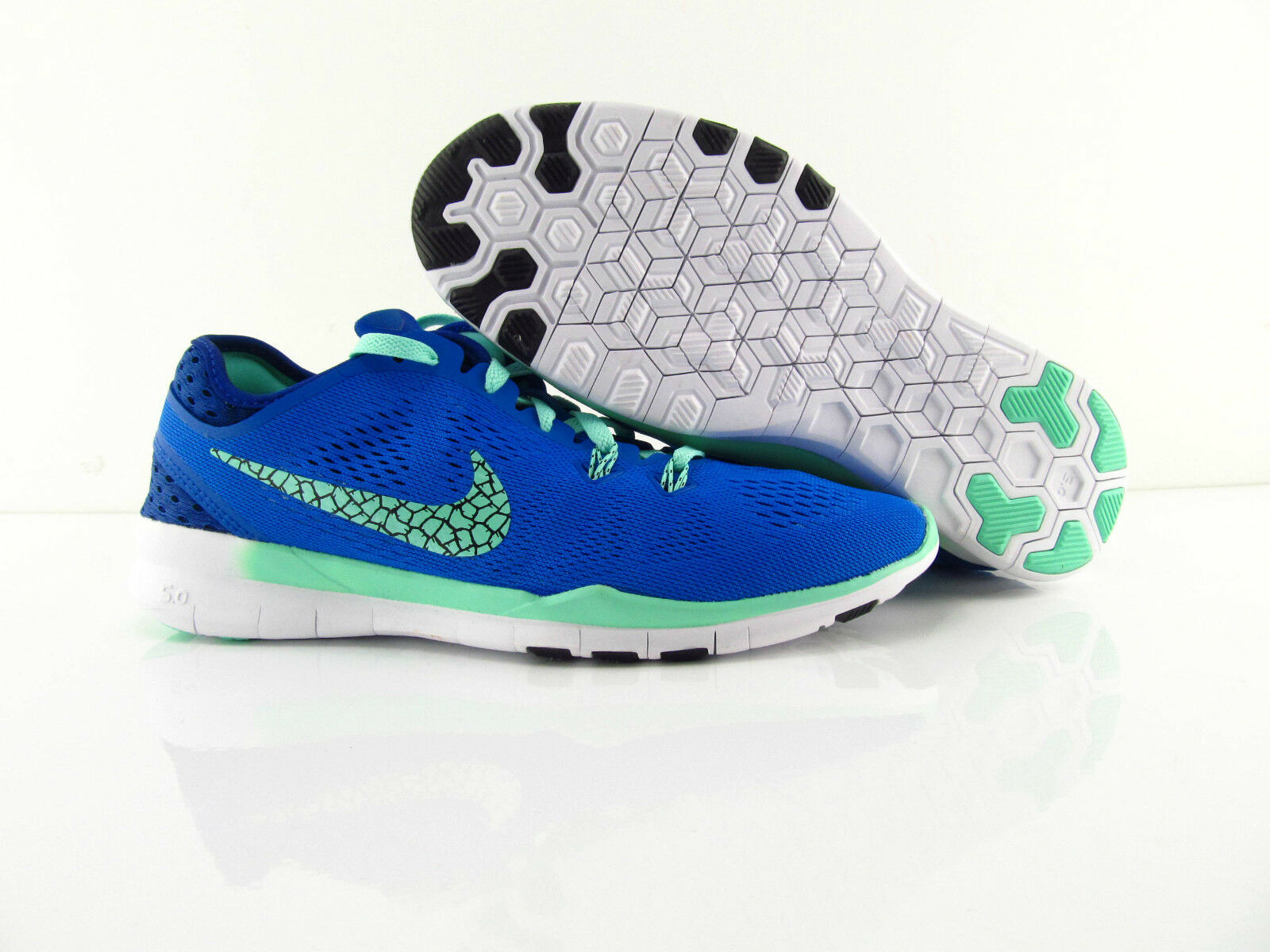 Nike Free 5.0 TR FIT 5 Breathe Barefoot Running Training bluee US_8 Eur 39