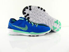 Nike Free 5.0 TR FIT 5 Breathe Barefoot Running Training Blue US_8 Eur 39