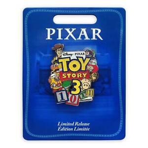 Disney-Parks-Toy-Story-3-Pin-10th-Anniversary-Limited-Release-New-with-Card