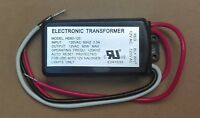 Electronic Dimmable Transformer 120vac To 12vac Halogen Lamp Light 60w Max.