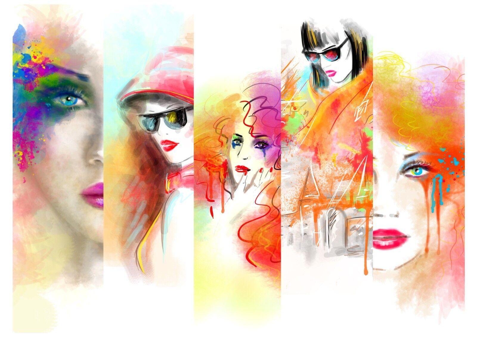 3D Gemaltes Gemaltes Gemaltes Mädchen 8046 Tapete Wandgemälde Tapeten Bild Familie DE Lemon | Moderate Kosten  ad2f61