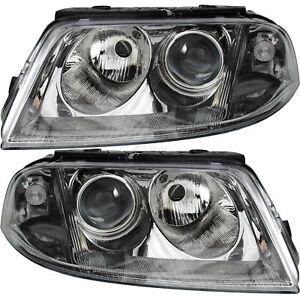 Scheinwerfer-Set-rechts-amp-links-VW-PASSAT-3BG-11-00-05-05-H7-H7-mit-Blinker