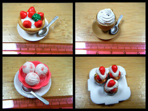 DOLLS-HOUSE-MINIATURE-FOOD-CAKE-HOT-CHOCOLATE-CAPUCCINO-ICE-CREAM-BOWL-1-12th