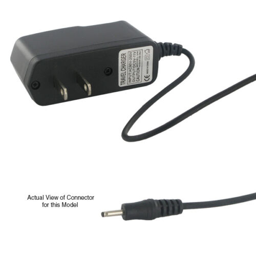 2.5mm Wall AC Home Charger Visual Land Prestige Pro Famtab ME-7D-8GB-F Tablet