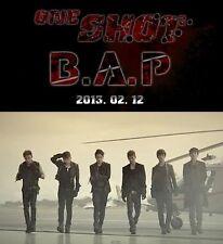 "B.A.P. BAP ""One Shot"" 2nd Mini Album: CD+ Photo card+ Mini Photo, New Sealed"
