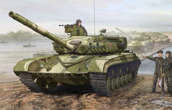 Soviet T64a Mod. 1981 Tank 1 35 Plastic modello Kit TRUMPETER