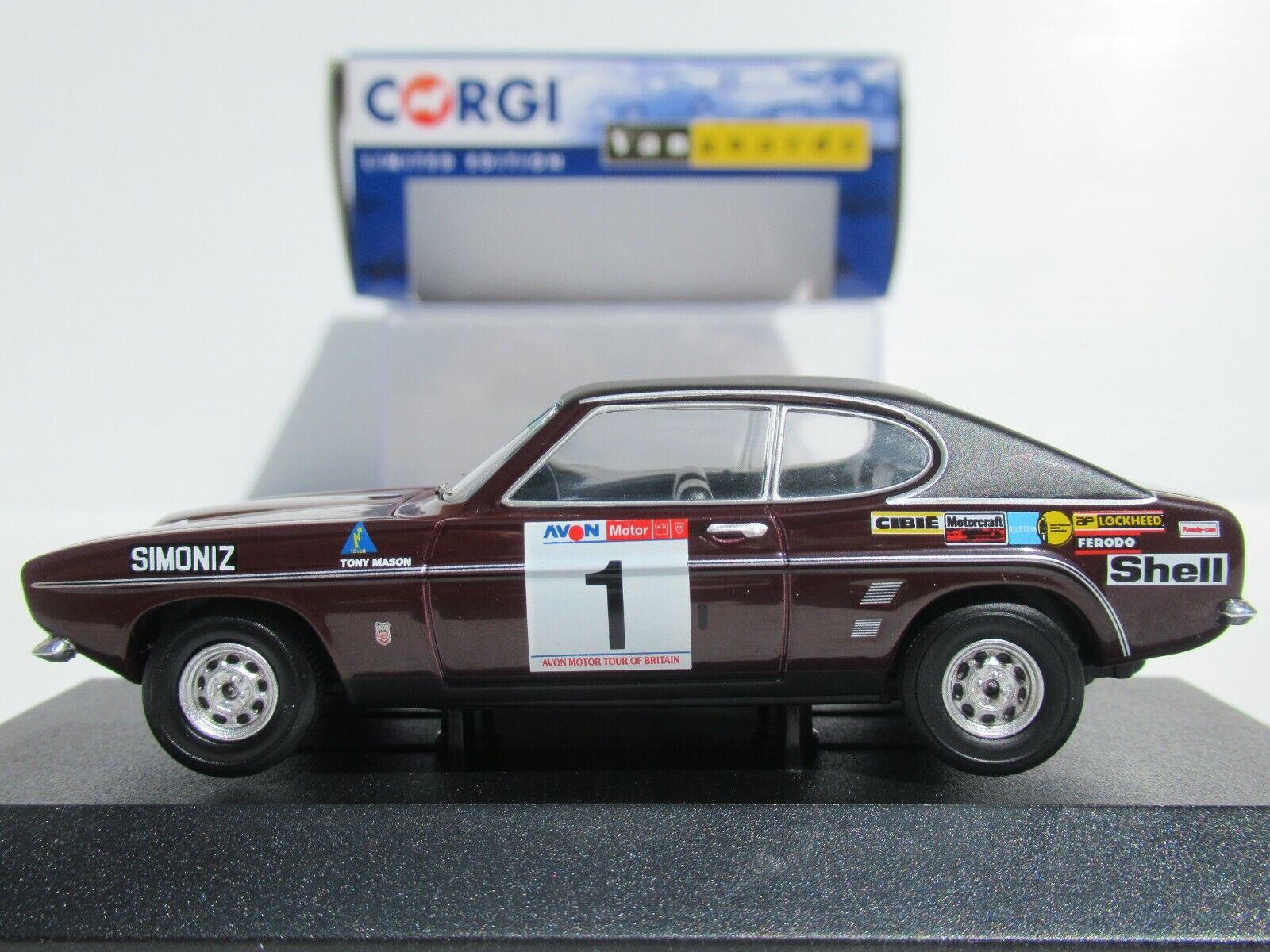 Vanguards Ford Capri Mk1 3000gt Roger Clark 1973 Avon Tour Britain Va13303 For Sale Online Ebay