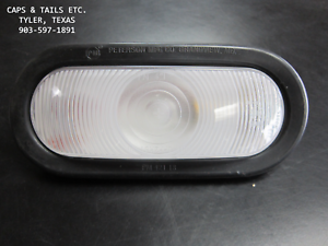 Trailer-Flatbed-Back-Up-Light-Peterson-Manufacturing-Co-416K-CLEAR-BACK-UP