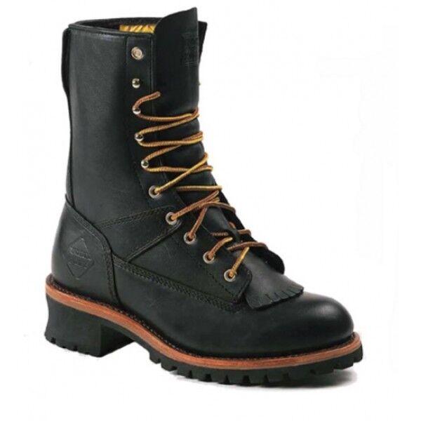 SALE Work Zone 10  Logger  Boot - Steel Toe & Waterproof - S950