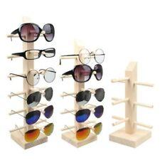 Wood Sun Glasses Eyeglasses Display Stands Shelf Display Show Stand Holder Rack