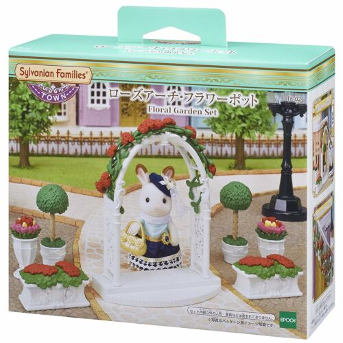 Japan Sylvanian Families FLORAL GARDEN SET TF-02 Town Series Doll not included
