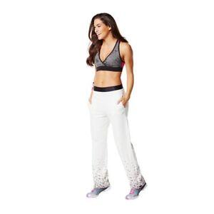Zumba Treaded Slim Jogger pants XS,S,XL and XXL Gray New