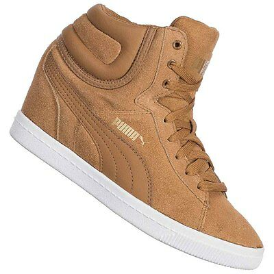 PUMA Vikky Wedge Damen Sneaker 357246-05 Keilabsatz Schuhe Freizeit Sneakers neu