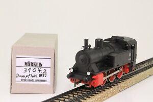 Marklin-3104-h0-locomotive-a-vapeur-Tenderlok-de-la-DB-BR-89-066-AC-analogique-bien