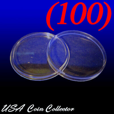 100x Coin Capsules Holder 40.6mm  US American Eagle Silver Dollar USA SHIPPING