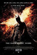 Batman The Dark Knight Rises (2012) Movie Poster 24x36 - Christian Bale Catwoman