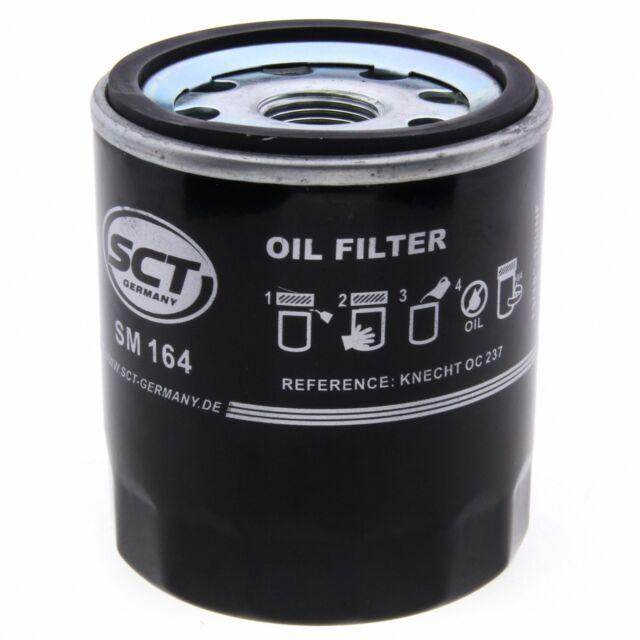 SCT Ölfilter SM164 Filter Motorfilter Servicefilter Anschraubfilter Dichtung