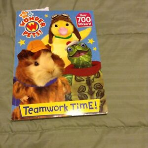 Wonder Pets Teamwork Time Coloring & Sticker Book A Few Pages ...