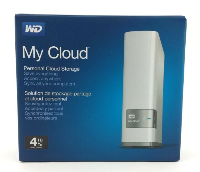 Western Digital My Cloud 4TB External Storage