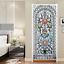 3D-Self-Adhesive-Stained-Glass-Window-Living-Room-Door-Murals-Wall-Sticker-Decal thumbnail 2