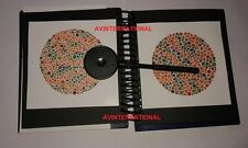 Edition 38 Plate Ishihara Tests Book for Color Blindness Testing Eye ...