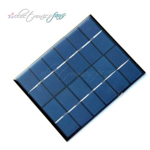 6V 2W 330mA Sunpower Solar Power Panel DIY For Phone Light Battery Charger A2TD