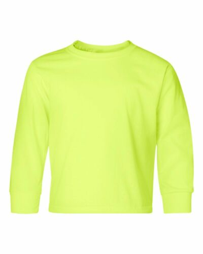 Jerzees Unisex Kids Heavyweight Blend Long-Sleeve T-Shirt 29BL S-XL