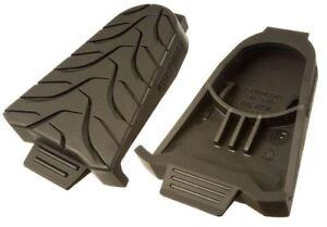 Shimano-SM-SH45-SPD-SL-Pedal-Shoe-Cleat-Covers-Protector-Pair-Black-Road-Bike