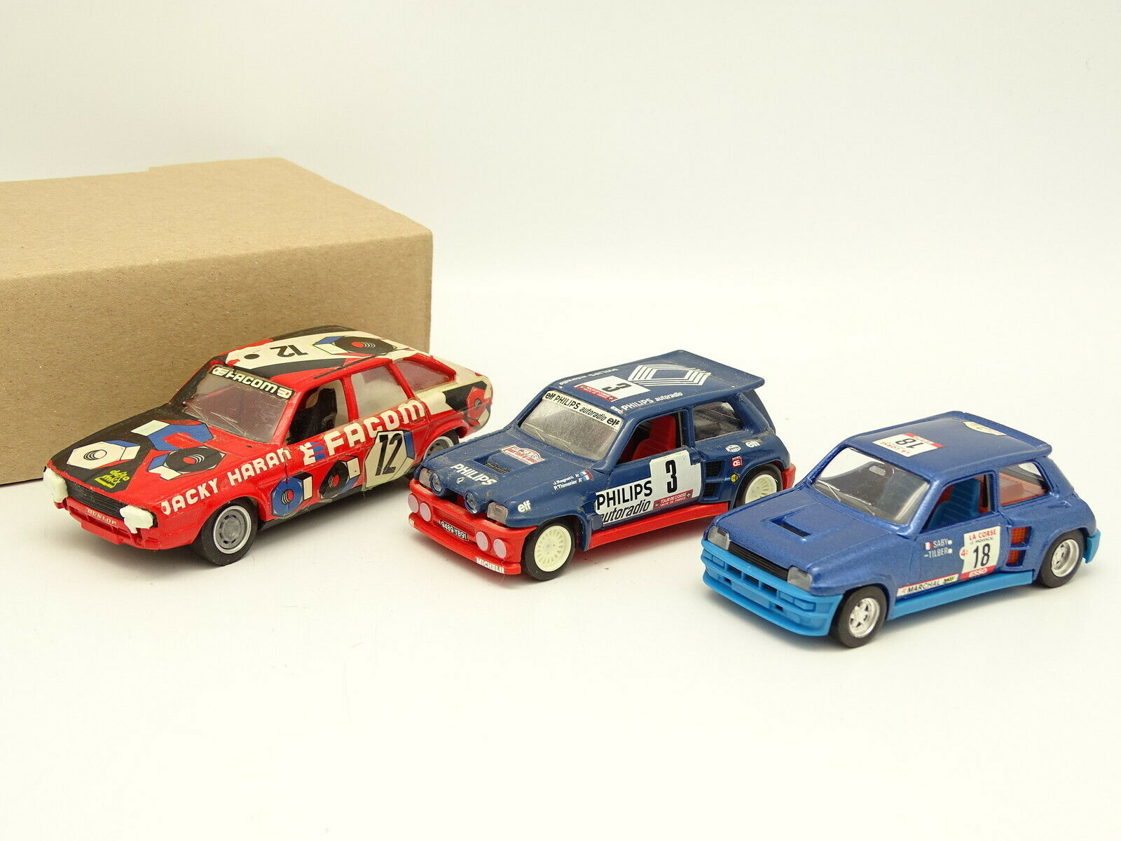 Solido SB 1 43 - Set of 3   Renault 30 Production and 2 renault 5 maxi Turbo