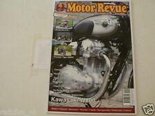 MOTOR REVUE 2011-04 CONDOR 350,DUCATI 175SS,SAROLEA,KAWA ZZR1400,W800,GOLDWING,