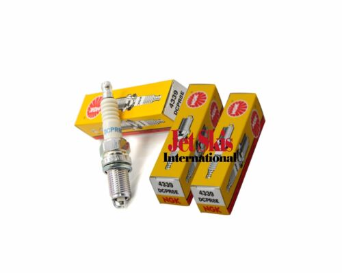 Sea Doo 4-TEC NGK DCPR8E Spark Plugs SET OF 3 RXP-X RXT-X GTX-iS//aS 215//255//260