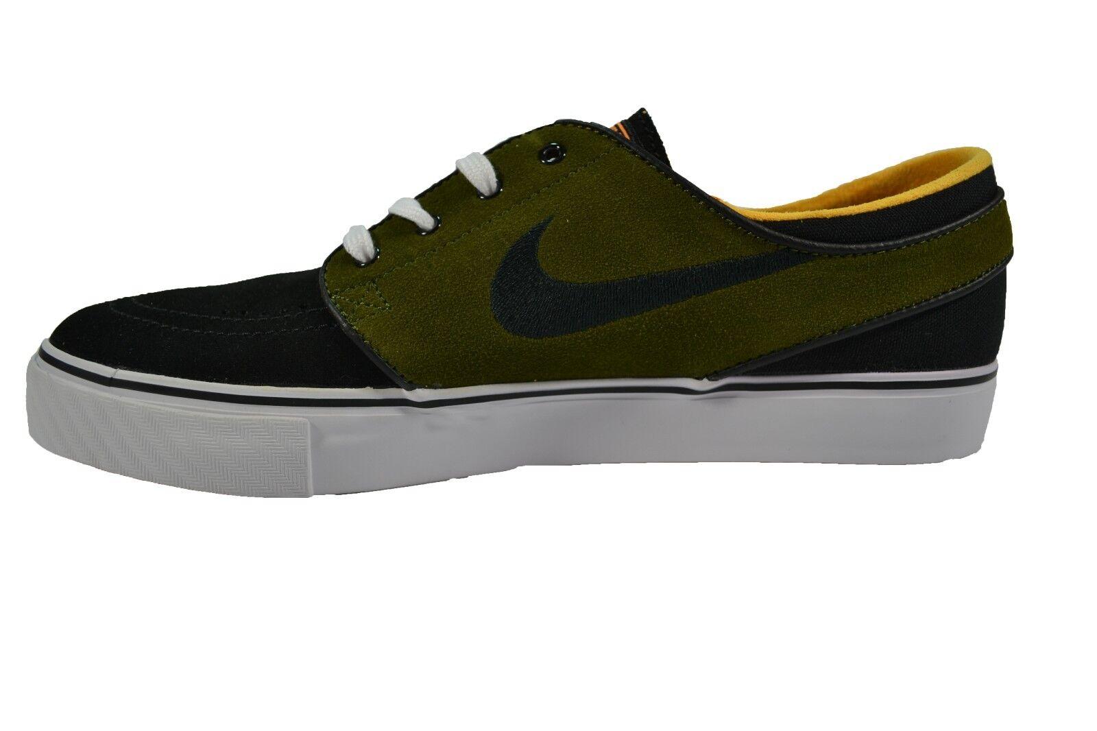 Nike ZOOM STEFAN JANOSKI Black Legion Green Laser Orange (335) Men's Shoes