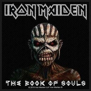 IRON-MAIDEN-Patch-Aufnaeher-The-Book-Of-Souls-10x10cm