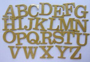stickers-ALPHABET-cartonne-coloris-Dore-hauteur-58mm