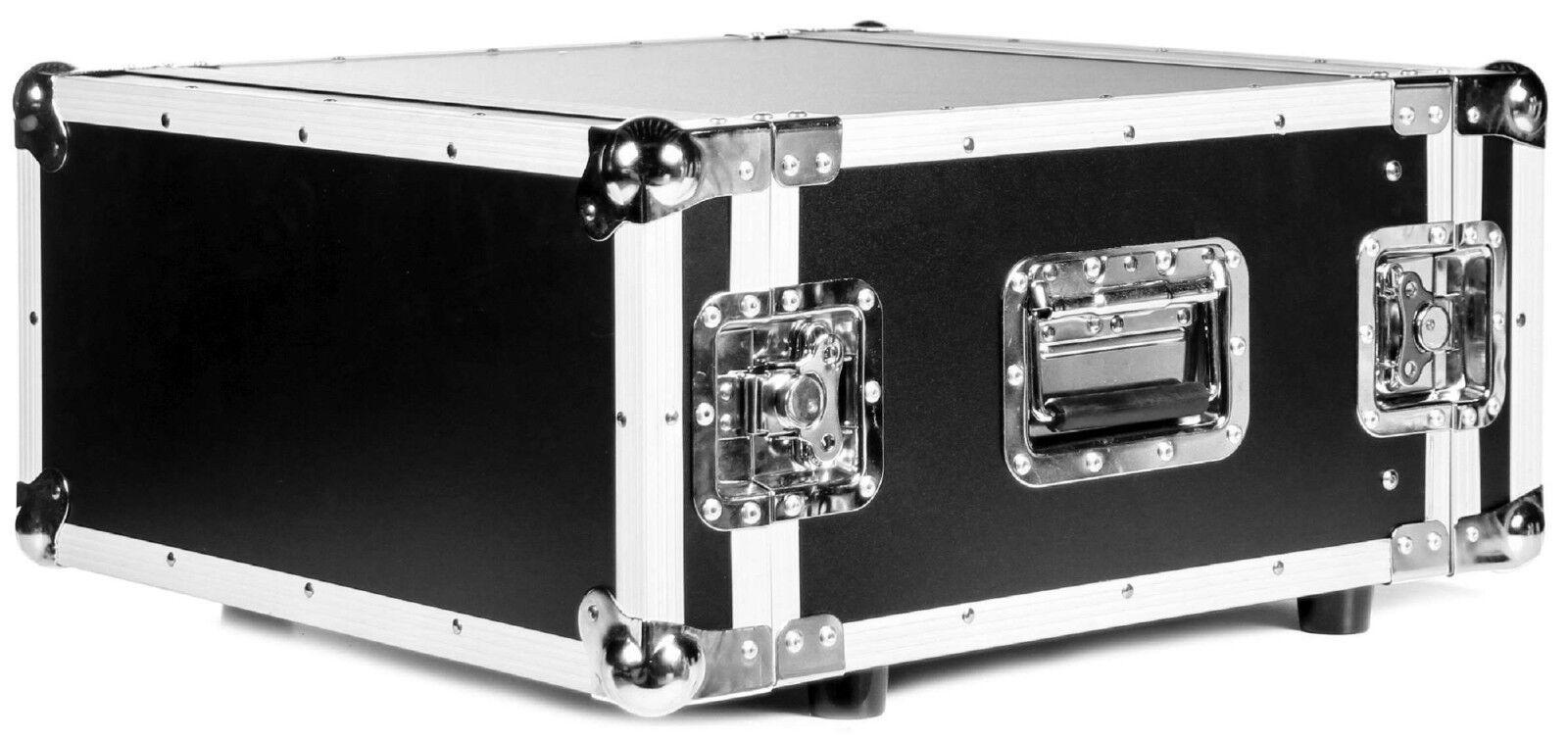 TEGO PRO 5 HE Rack Effektrack 43 cm tief 19  CO DD schwarz, Amprack DJ-Rack Case